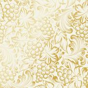 Stock Illustration of Vine seamless background