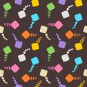 Stock Illustration of Seamless Raster Pattern