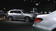 Mercedes-Benz GLK-Class Stock Footage