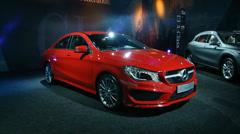Mercedes Benz CLA Stock Footage