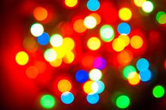 Color lights blur background Stock Photos