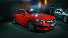 Mercedes Benz CLA - stock footage
