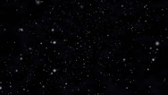 Stock Video Footage of Stars and cosmic fog in space