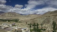 Alchi monastery Ladakh India time lapse Stock Footage
