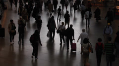 People in a public space Stock Footage
