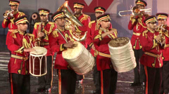 Military Band of the United Arab Emirates Stock Footage