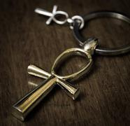 Egyptian Cross Ankh Stock Photos