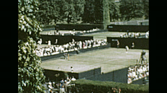 London 1964: Wimbledon Championship Stock Footage