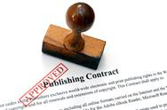 Stock Photo of publishing contract - approved