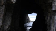 Stock Video Footage of remarkable cave tasmania