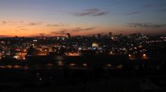 Jerusalem panorama Stock Footage