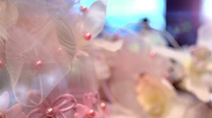 flower ornament - stock footage