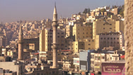 Stock Video Footage of Sskyline view of Amman, Jordan.