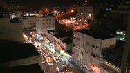 Stock Video Footage of Night time lapse of downtown Amman, Jordan.