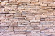 Stock Photo of stone wall texture background