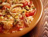 Stock Photo of paella valenciana