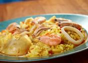 Stock Photo of spanish paella de marisco