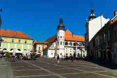 slovenia - marburg - maribor - stock photo