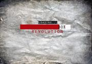 Stock Photo of Loading revolution draw on a grunge background