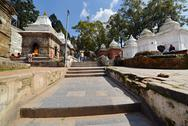 Stock Photo of pashupatinath hindu temples. nepal