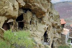 Davit Gareji monastery complex, Georgia Stock Photos