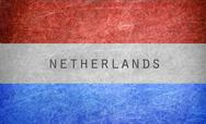 Stock Illustration of Grunge Netherlands flag