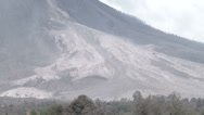 Stock Video Footage of HD Volcano Pyroclastic Flow Deposits After Eruption
