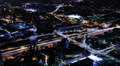 Cityscape Neon 02 Los Angeles Timelapse Light Trails HD Footage