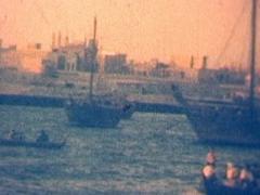 DUBAI 1960 Color Stock Footage
