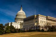 Stock Photo of the united states capitol, washington, dc.