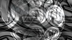 Litecoin Spin Stock Footage