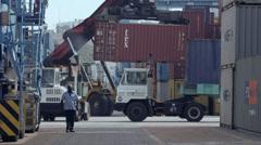 Port of Mombasa, Kenya Stock Footage