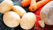 Stock Video Footage of Scottish Haggis Raw Ingredients