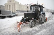 Stock Photo of Machine for snow removal