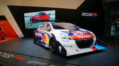 Peugeot 208 T16 Stock Footage