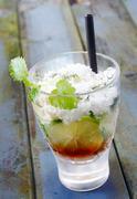 Lime cocktail Stock Photos