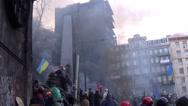 Stock Video Footage of Ukraine, opposition to Hrushevskoho Kiev