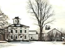 Abandoned old farmhouse Stock Photos