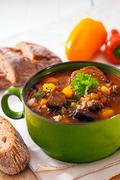 nutritious winter casserole - stock photo
