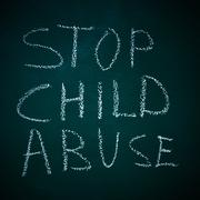 Stop child abuse Stock Photos
