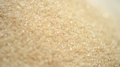 Rotating brown sugar (background video) Stock Footage
