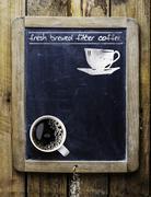 Fresh brewed filter coffee Stock Photos