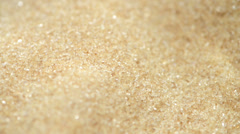 rotating brown sugar (background video) - stock footage