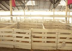 Livestock stalls Stock Photos