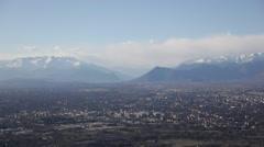 Turin panoramic view; winter clear day; Italy, Europe. HD1080P Canon 5DmkII - stock footage