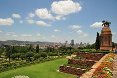 African City Johannesburg - stock photo