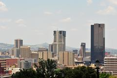 skyscrapers of Pretoria - stock photo