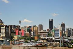 African City Johannesburg - stock photo