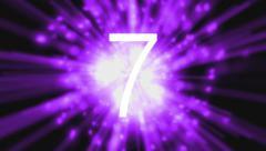 Universal Leader Countdown Clock Stock Footage