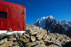 Stock Photo of mountain hut
